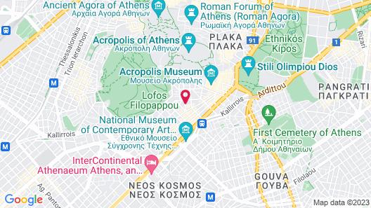 Great Living Koukaki Map