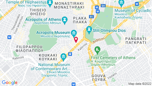 COCO-MAT Athens BC Map