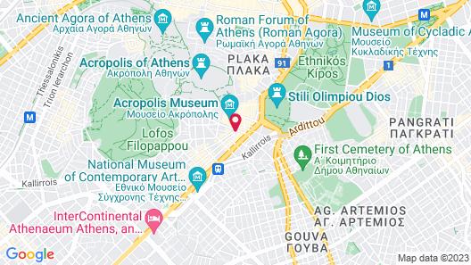 Hera Hotel Map