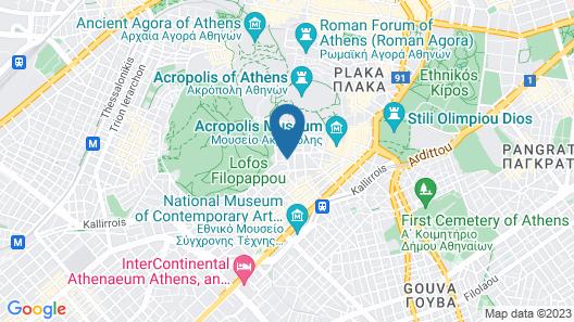 Acro Urban Suites Map