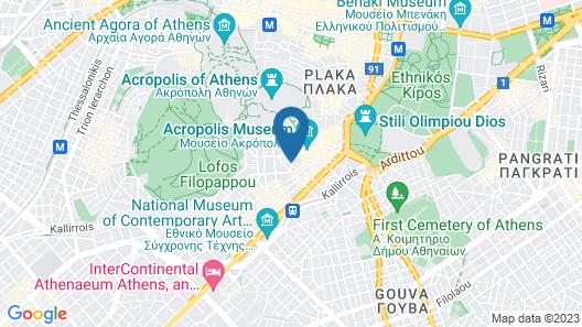 Philippos Hotel Map