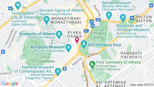 AVA Hotel & Suites Map
