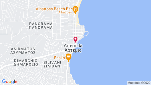 Seasabelle Hotel Map
