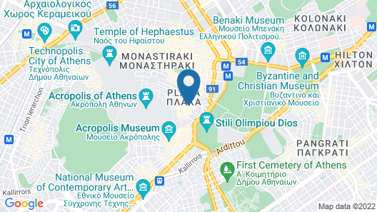 Palladian Home Map
