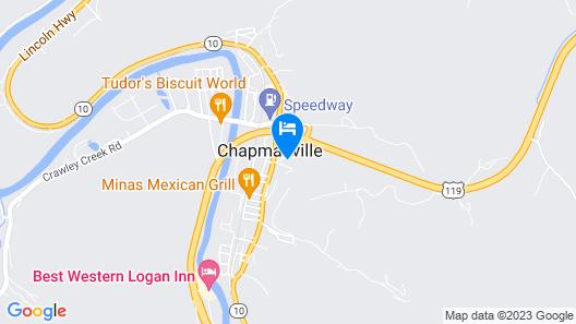 Chapmanville Inn Map