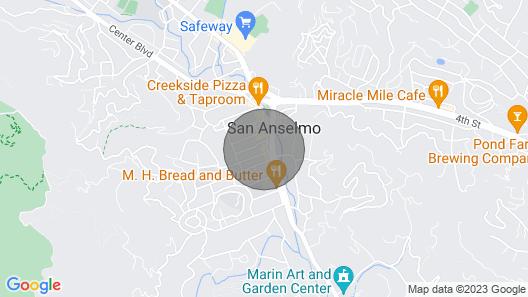 The Best Kept Secret in the Heart of Marin Map