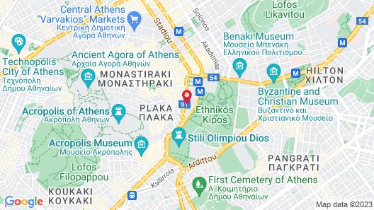 innAthens Map