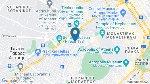 Hercules Residence Map