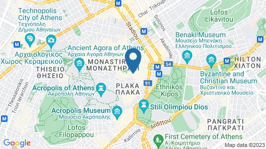 Hermes Hotel Map