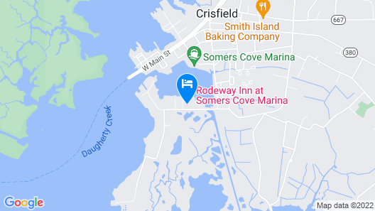 Somers Cove Motel Map