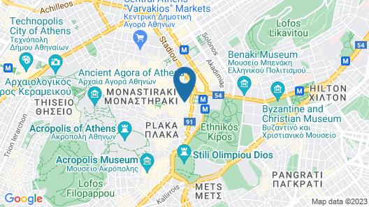 Arethusa Hotel Map