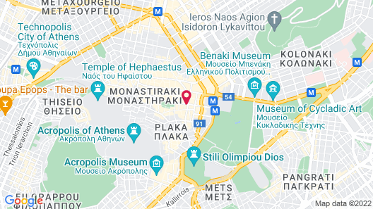 Electra Metropolis Athens Map