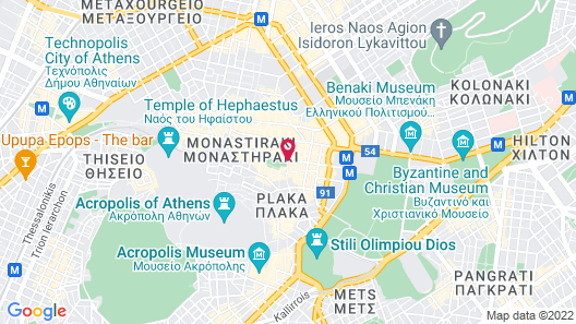 Metropolis Hotel Map