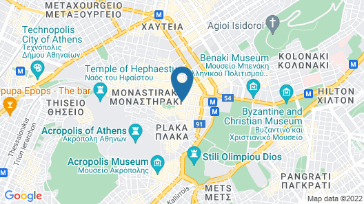 MET34 Athens Map