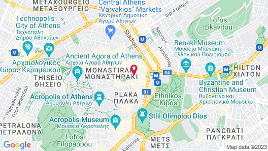 10 Petraki Map