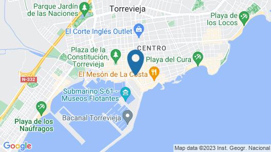 Homely Apartments Club Náutico Map