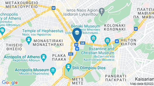 Hotel Grande Bretagne, a Luxury Collection Hotel, Athens Map