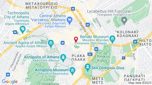Athenian Foss Map