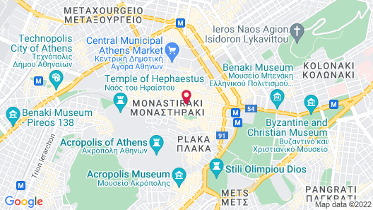 Athens Utopia Ermou Map