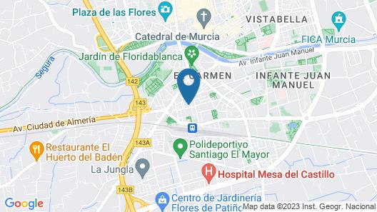 El Carmen Map