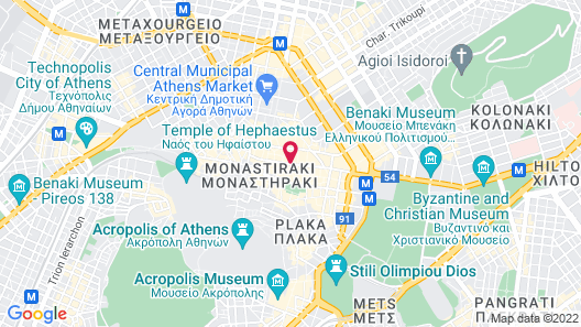 Athens Manor Houses Suites Apartments Map