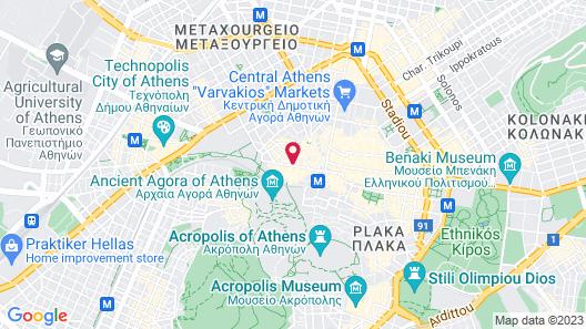 Pella Inn Hostel Map
