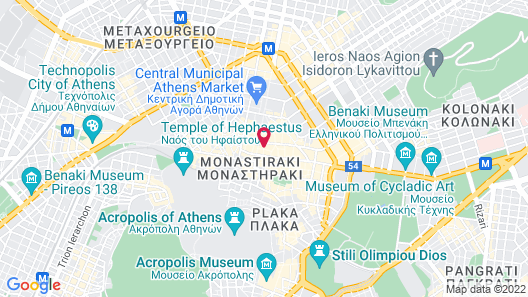 Perianth Hotel Map