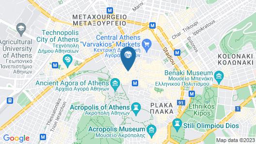 Athens Lodge Map