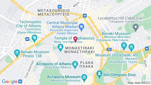 athensotel.com Map