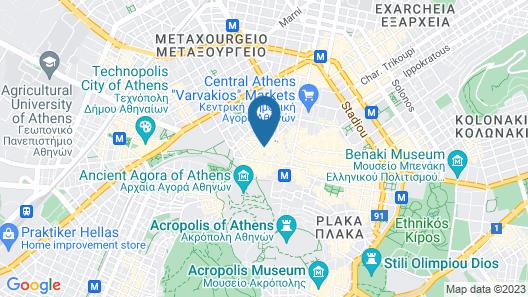 Micon Lofts Map
