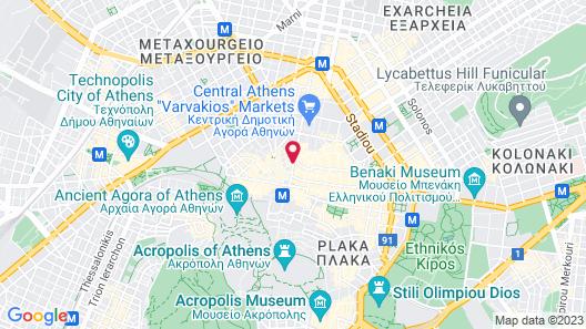 Fivos Hotel - Hostel Map