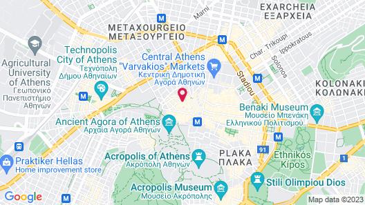 18 Micon Street Map