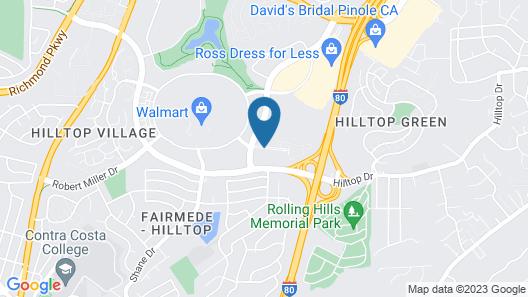 Courtyard by Marriott Richmond/Berkeley Map