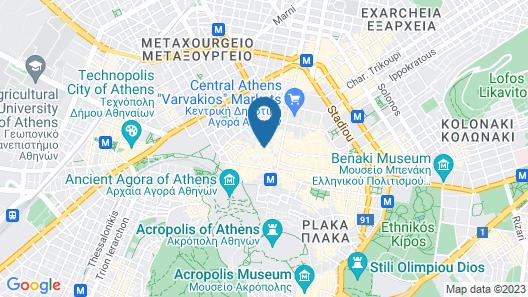 MELO Athens Map
