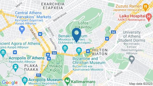 Periscope Hotel Map