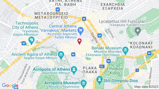 Athens Starlight Hotel Map