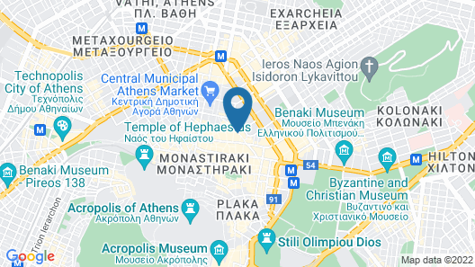 Dynasta Central Suites Map