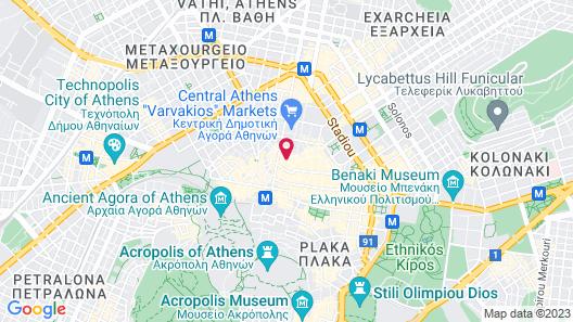 Still Athens Map