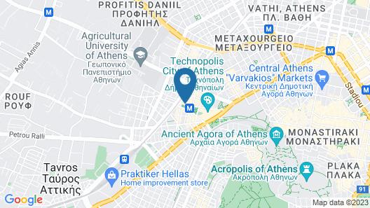 Modern Studio in Athens! Map