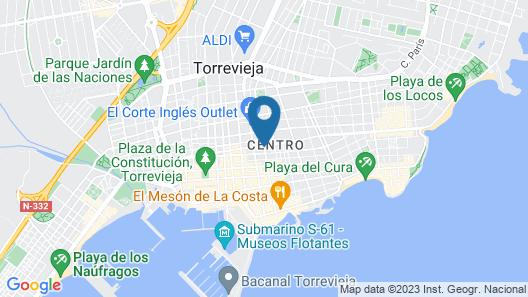 Hotel Cano Map