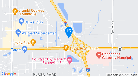 Country Inn & Suites by Radisson, Evansville, IN Map