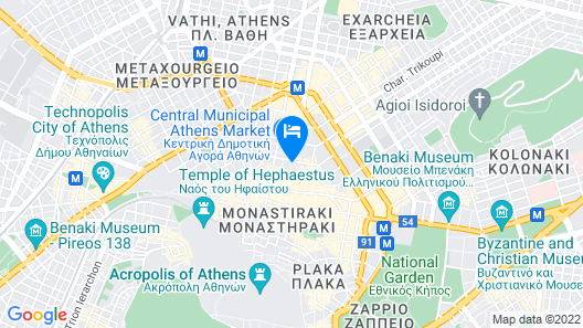 The Pinnacle Athens Map