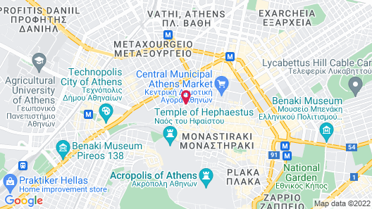 City Circus Athens - Hostel Map