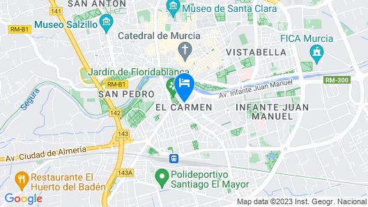 Catalonia Conde de Floridablanca Map