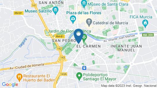 Hotel Pacoche Murcia Map