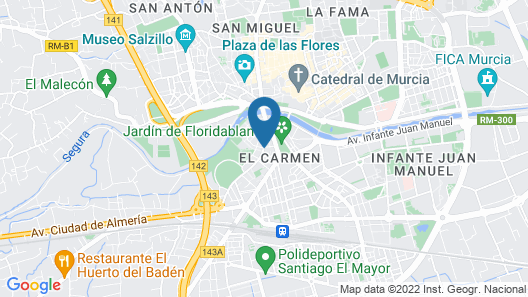 Hotel Universal Pacoche Map