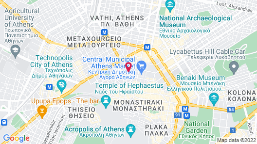 Selina Athens Theatrou Map