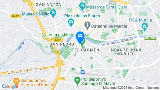 Hotel Casa Emilio Map