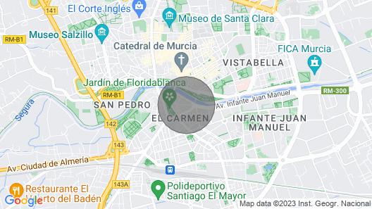 Murcia Executive. 5 bedrooms Map