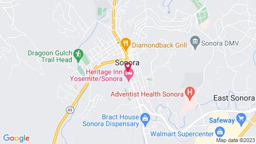 Gunn House Hotel Map